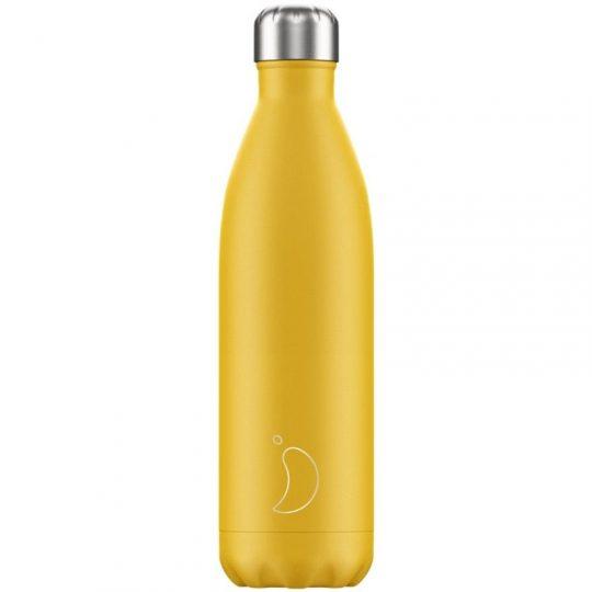Botella Isotérmica Edición Mate - Amarillo 750 ml -