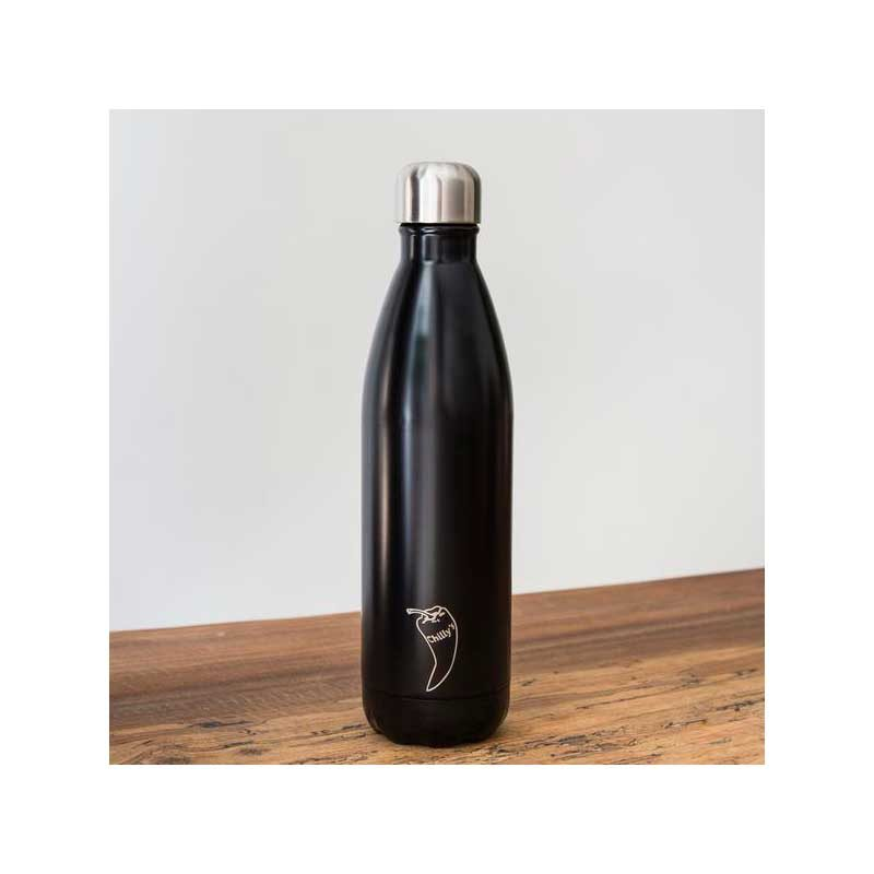 Botella Isotérmica Edición Mate - Negro 500 ml -