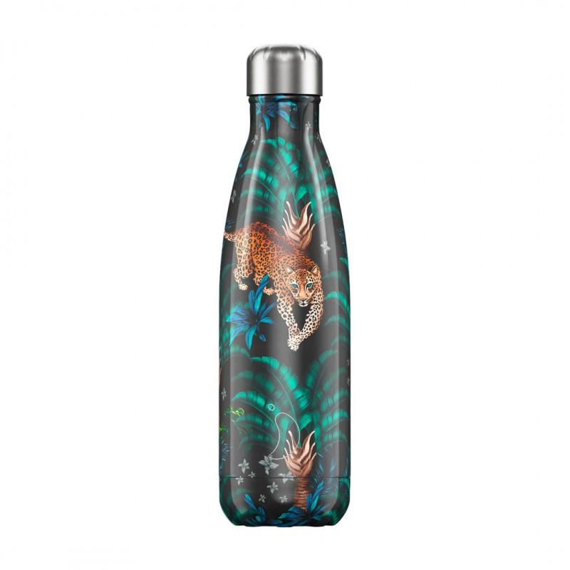 Botella Isotérmica Edición Tropical - Leopard 500 ml