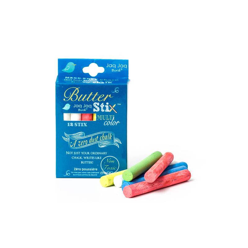 Tizas de colores 'Sin polvo'