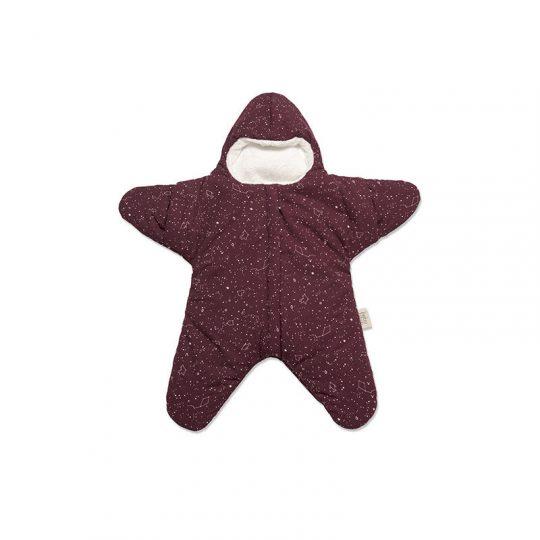 Buzo BabyBites estrella burdeos