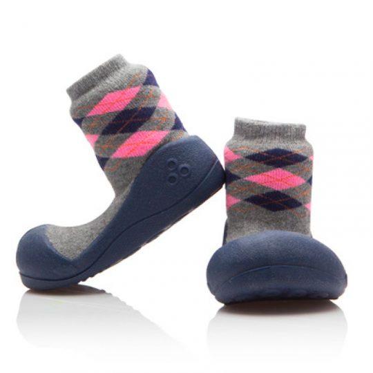 Zapatos Attipas Argyle - Gris -