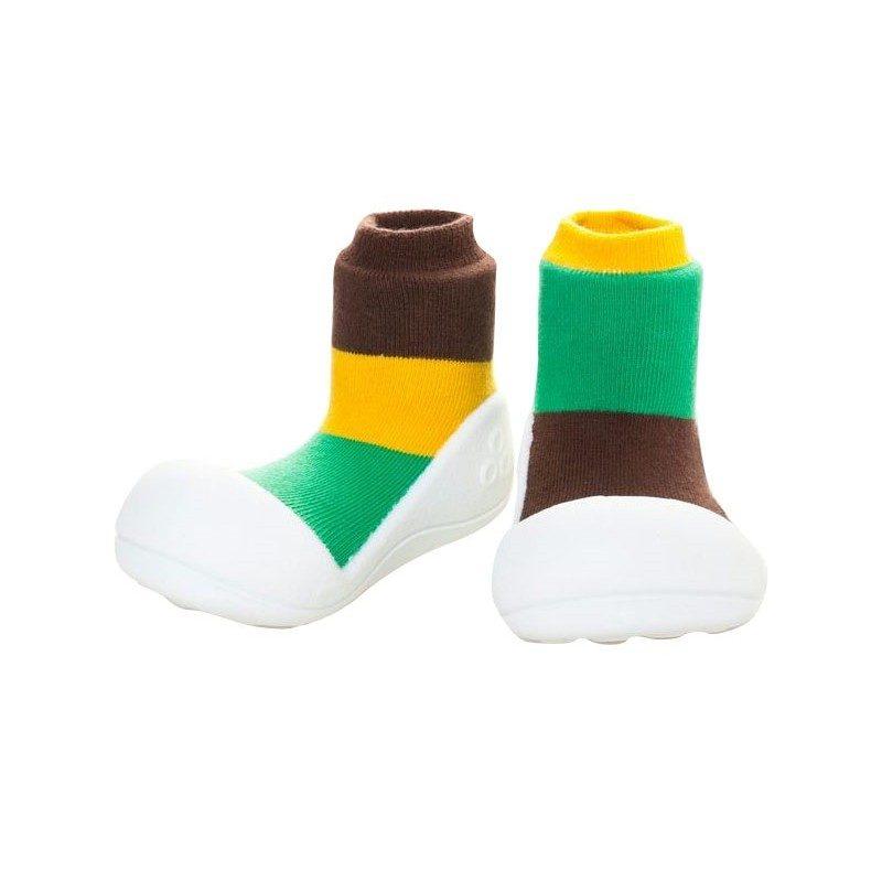 Zapatos Attipas Together - Marrón -