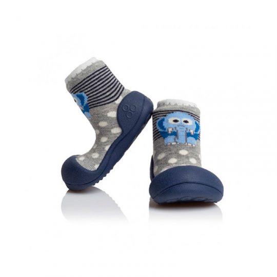 Zapatos Attipas Elefante - Azul -
