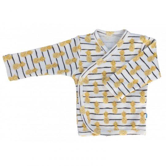 Camiseta cruzada manga larga - Piña -