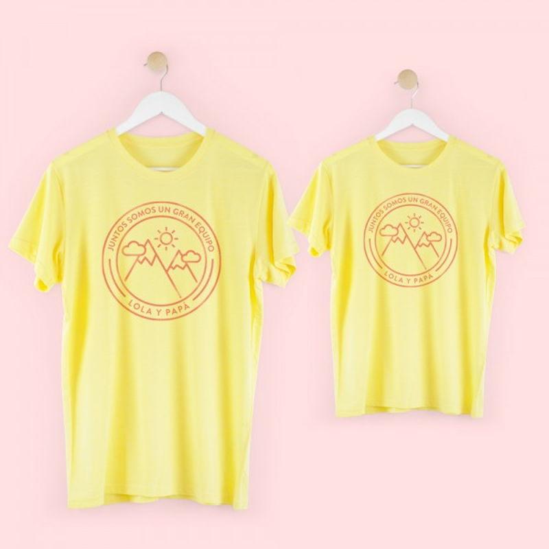 camiseta-equipo-papa-trekking-amarillo-mamushka-monetes 70feed4d569