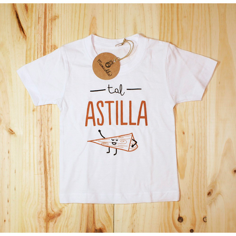 Camiseta 'tal astilla'