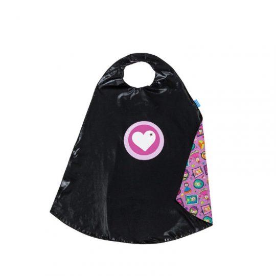 Capa negra Corazón