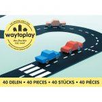 Carretera flexible 40 piezas, Way to Play