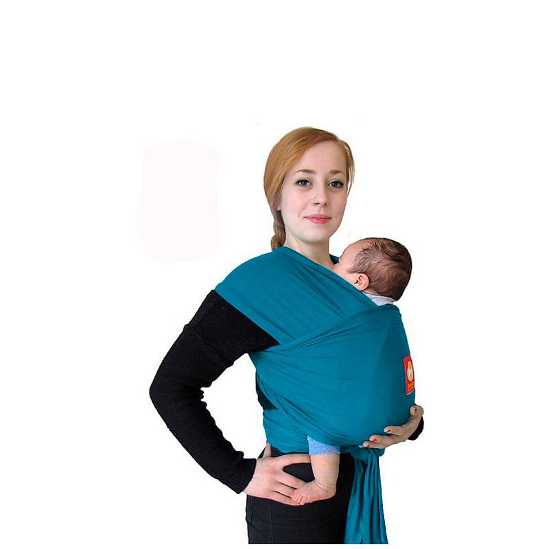 Fular elástico Hana Baby Organic Teal