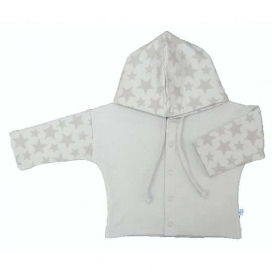Chaqueta con capucha - Stars Gris -