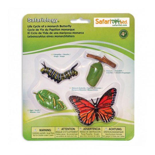 Ciclo de la Vida Safari Ltd - Mariposa monarca