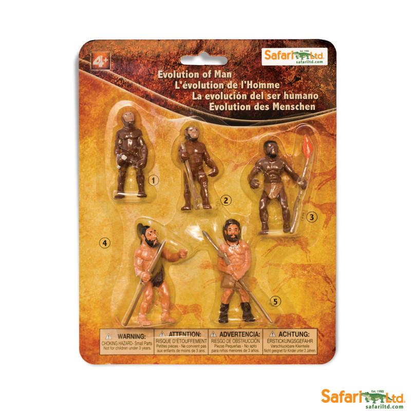 Evolución del hombre Safari Ltd