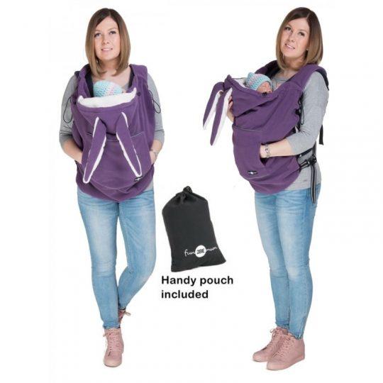 Cobertor de porteo Polar - Lilac -
