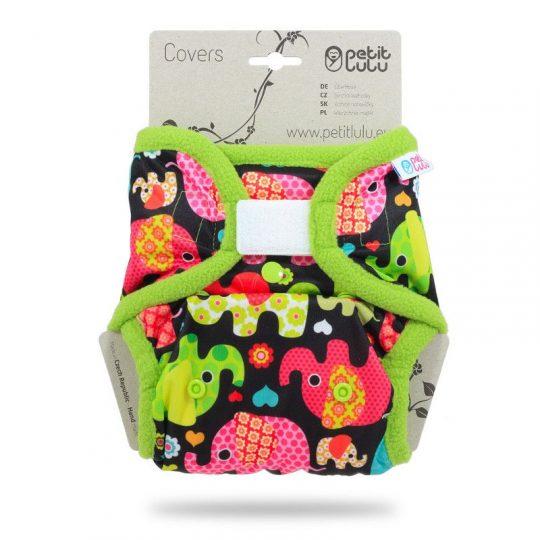 Cobertor Talla Única Velcro Petit Lulu - Elefantito -