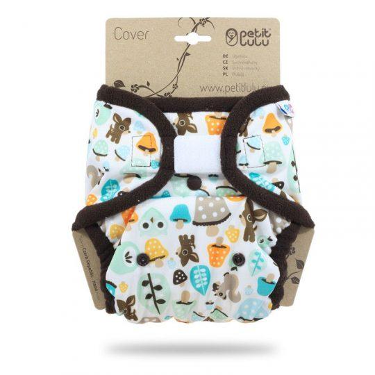 Cobertor Talla Única Velcro Petit Lulu - Mushrooms -