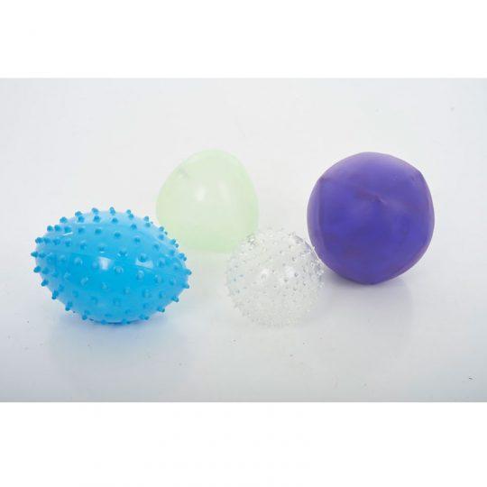 Conjunto 4 bolas sensoriales