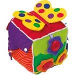 Cubo de Tela Sensorial - Monetes
