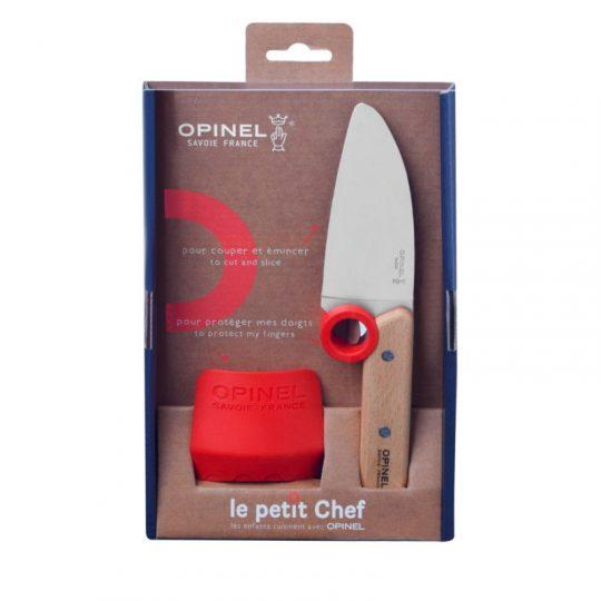 Cuchillo + Protector de dedos Petit Chef