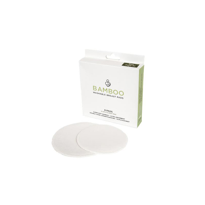 Discos de lactancia Bambú (8 uds)