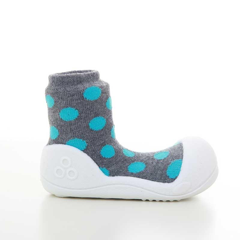 Zapatos Attipas Polka Dots -gris-