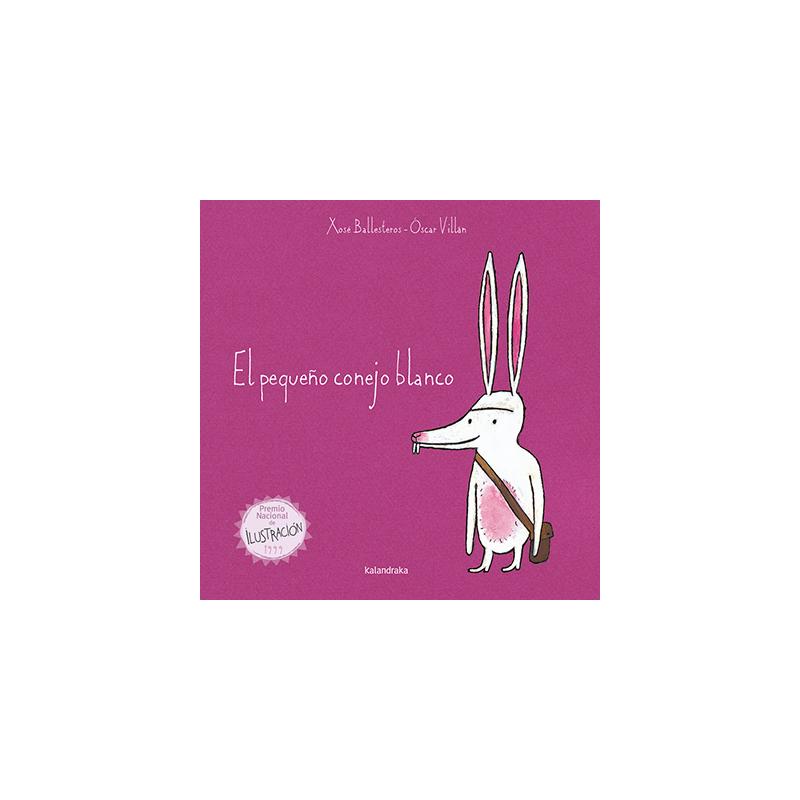 El pequeño conejo blanco