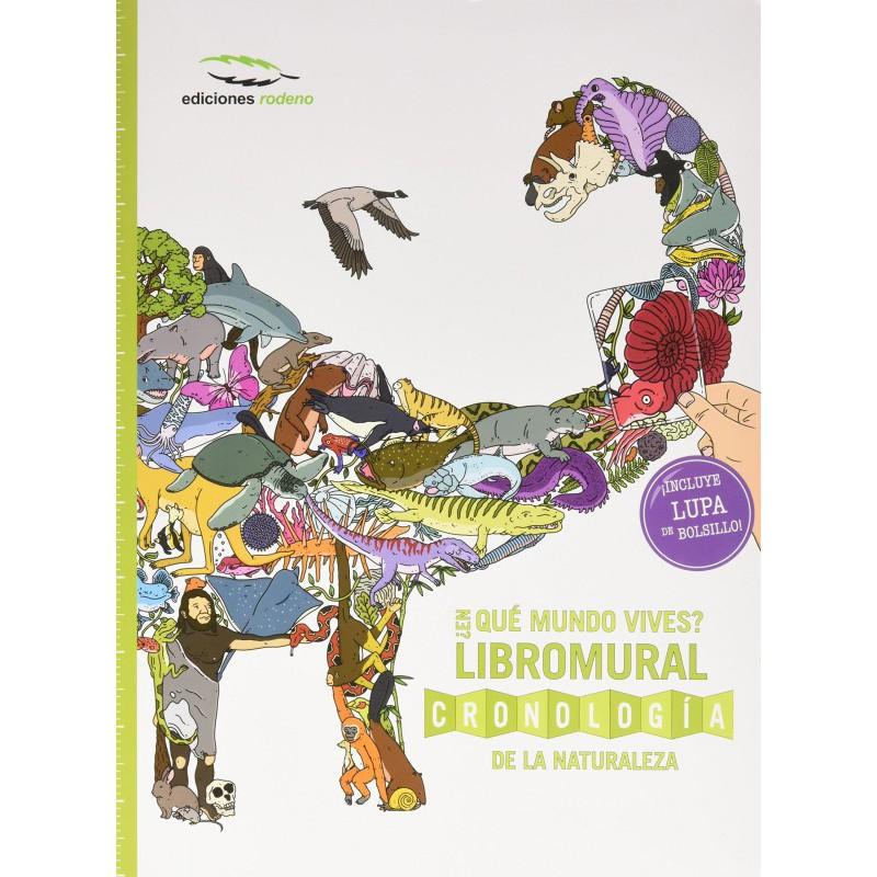 ¿En qué mundo vives? Libromural Cronología de la naturaleza