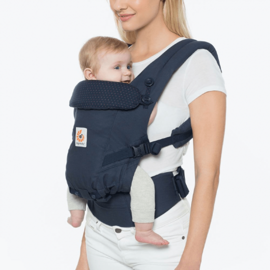 Mochila Ergobaby Adapt - Navy mini dots