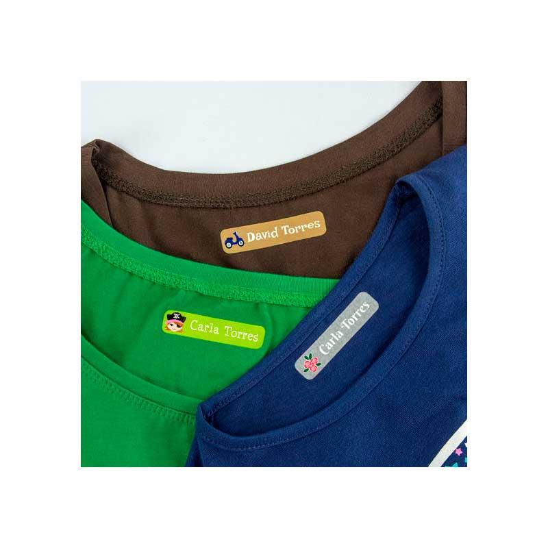 96 Etiquetas de ropa personalizadas Stikets