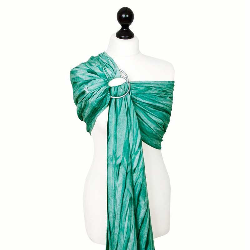 Bandolera Fidella Persian Paisley Batik -verde-