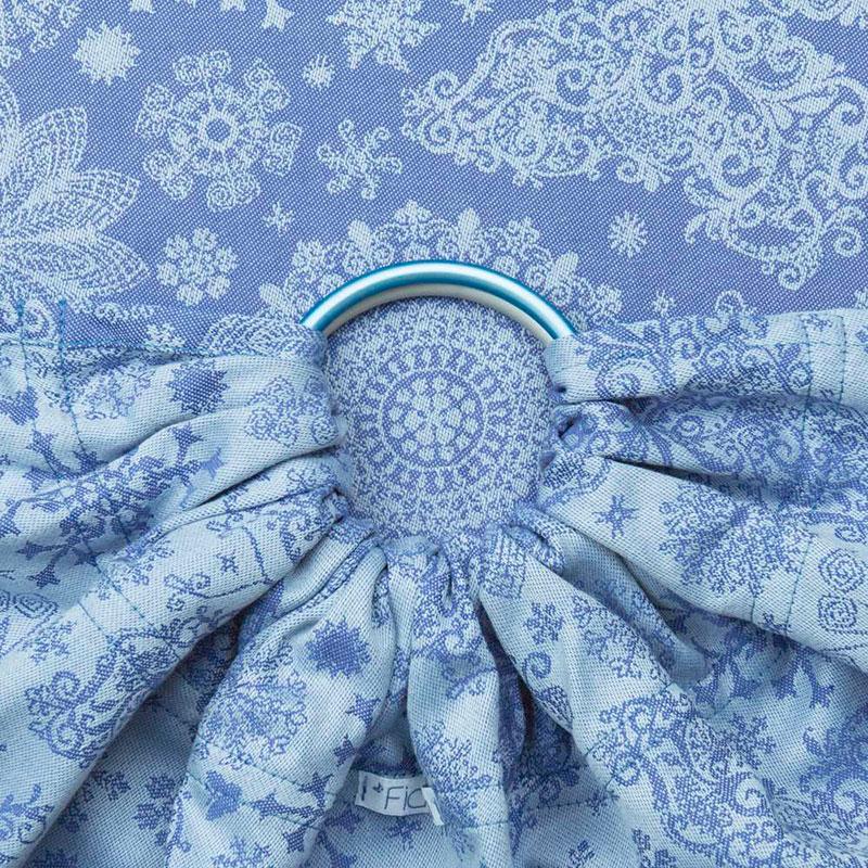 Bandolera Fidella Iced Butterfly - Pearl Blue -