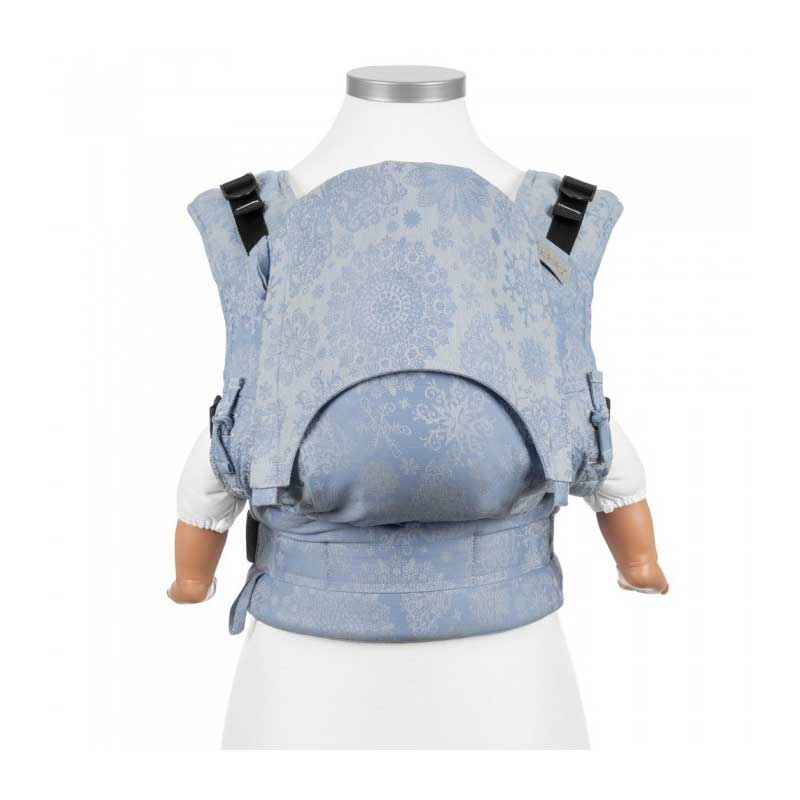 Mochila Fidella Fusion Iced Butterfly - Azul Claro - Baby