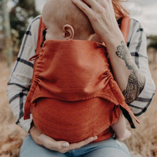Mochila Fidella Fusion Cubic Lines - Rustred - Baby