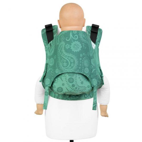 Mochila Fidella Fusion 2.0 Persian Paisley - Verde -  Toddler