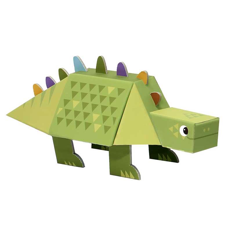 Fold my dino: Estegosaurus