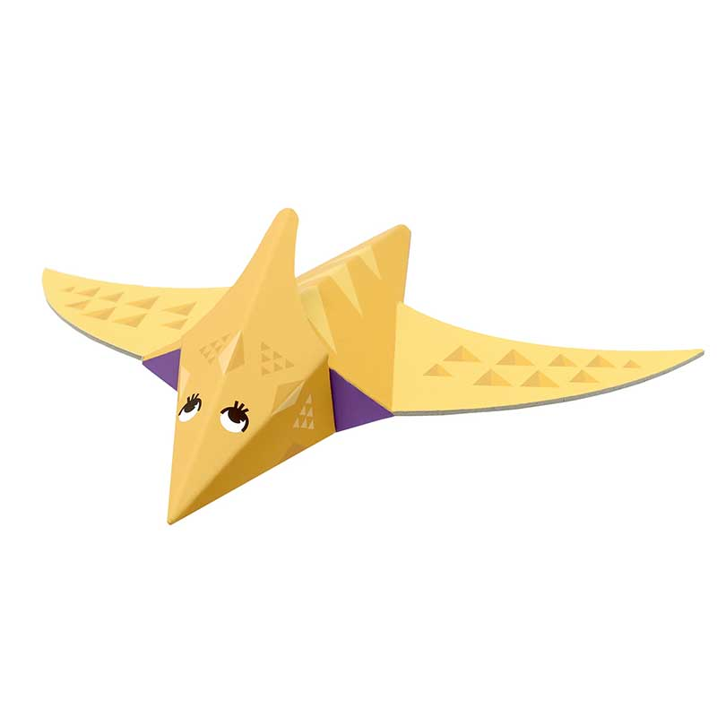 Fold my dino: Pterosaurus