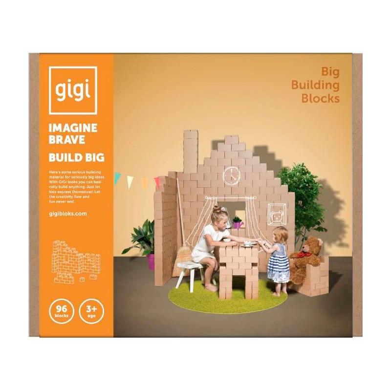 Gigi Bloks - Bloques de construcción 96 piezas XL