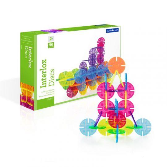 Discos Interlox - 96 piezas -