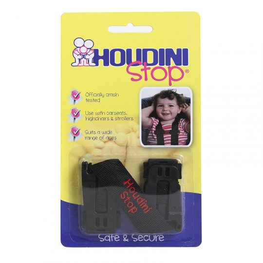 Houdini Stop - Sujeta arnés para la silla del coche