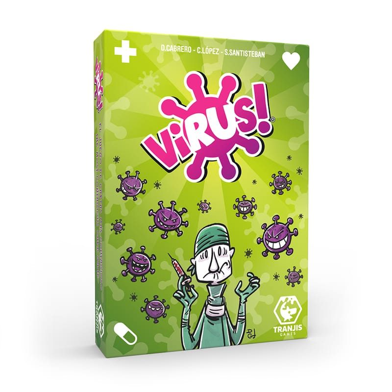 Juego de cartas Virus - Monetes
