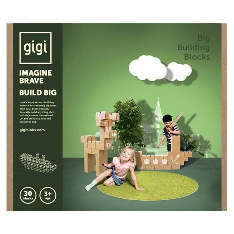 Gigi Bloks - Bloques de construcción 30 piezas XL