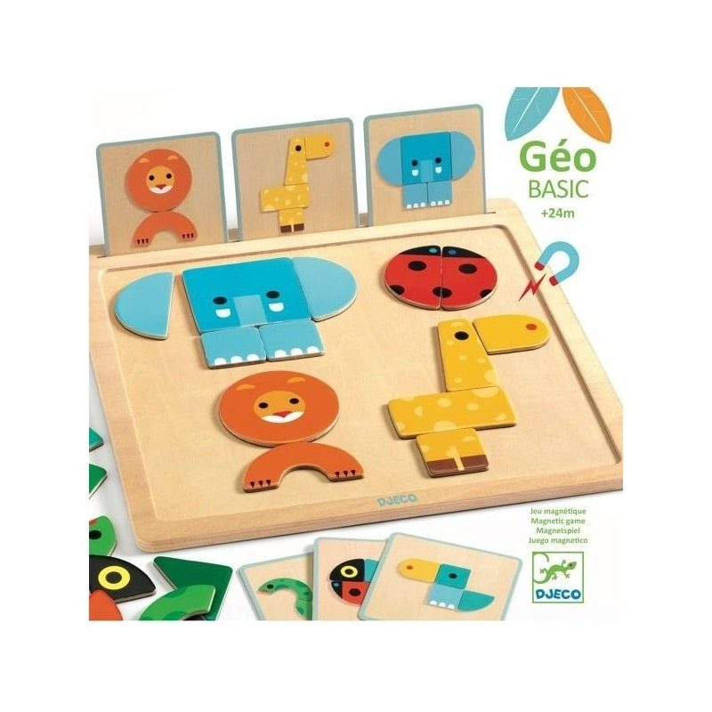 Juego magnético Geo Basic - Monetes