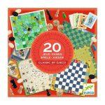 20 juegos clásicos Djeco