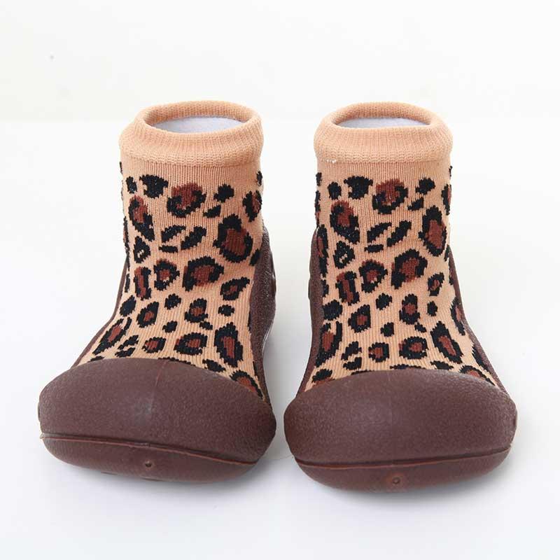 Zapatos Attipas Leopardo -marrón-