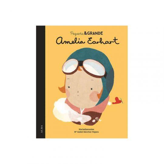 Pequeña y grande: Amelia Earhart