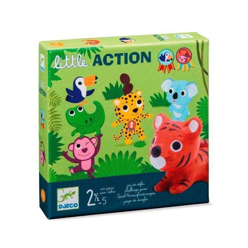 little-action-juego-de-mesa-principiantes-djeco-monetes
