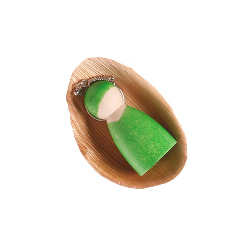 Llavero duendecillo Waldorf Verde