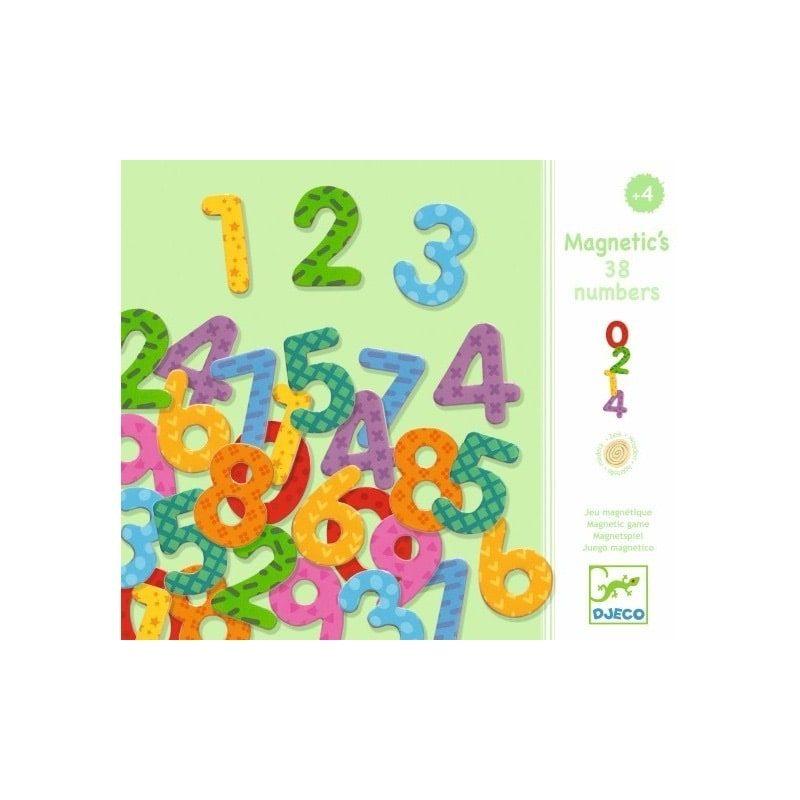 Magnéticos 38 números - Monetes