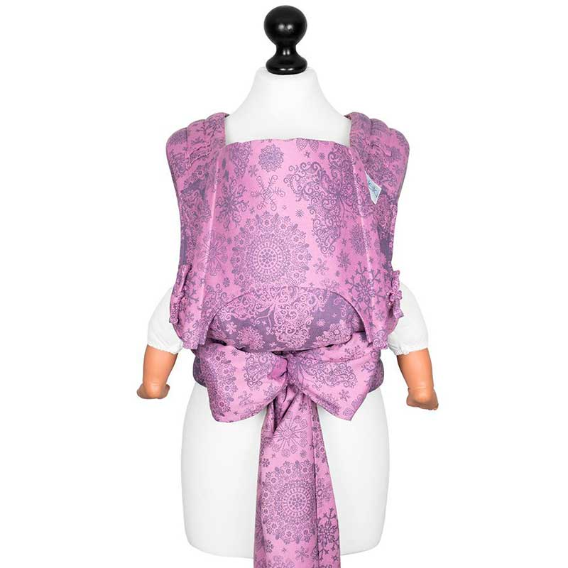 Fly Tai - Mei Tai Evolutivo Iced Butterfly - Violet - Toddler