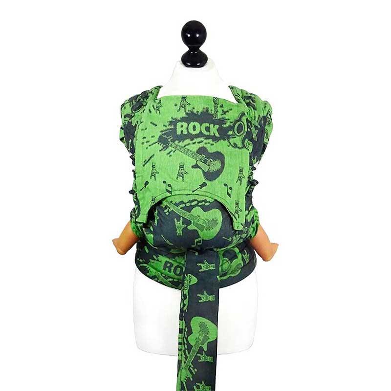 Fly Tai - Mei Tai Evolutivo Rock and Rolla - Green Splash - Toddler